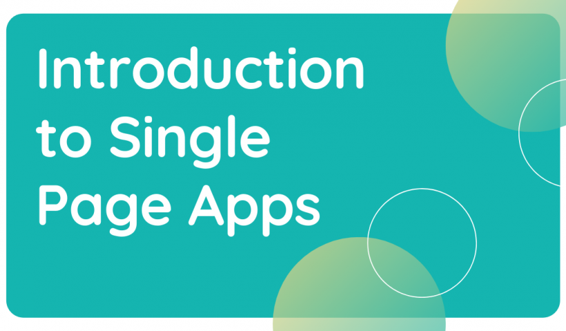 single page apps