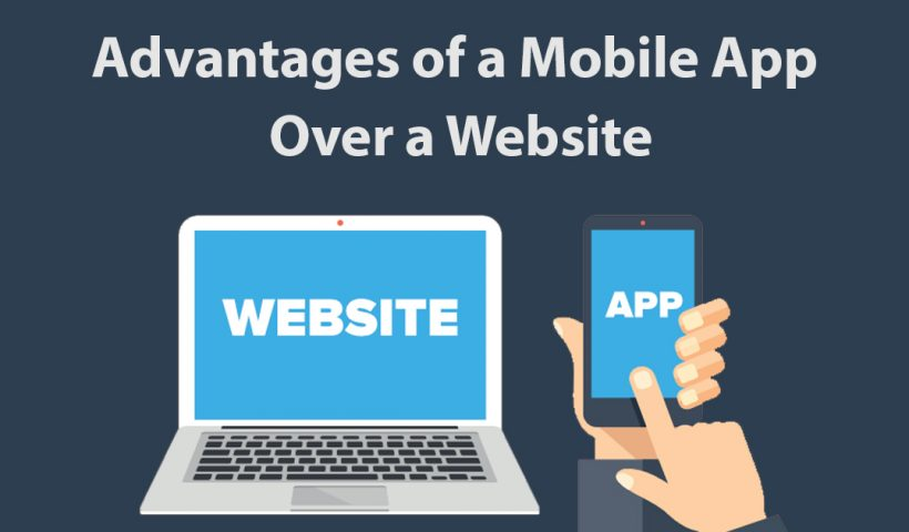 website vs mobile app