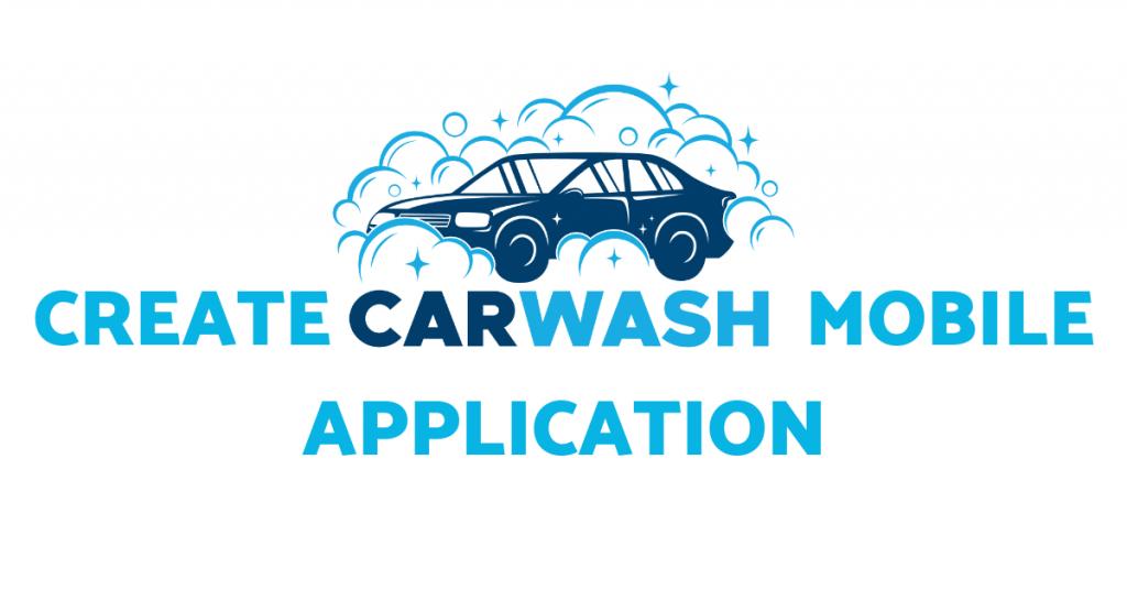 carwash mobile application