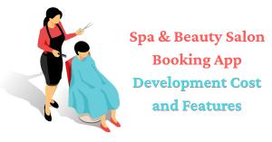 Spa & Salon Mobile Application Cost