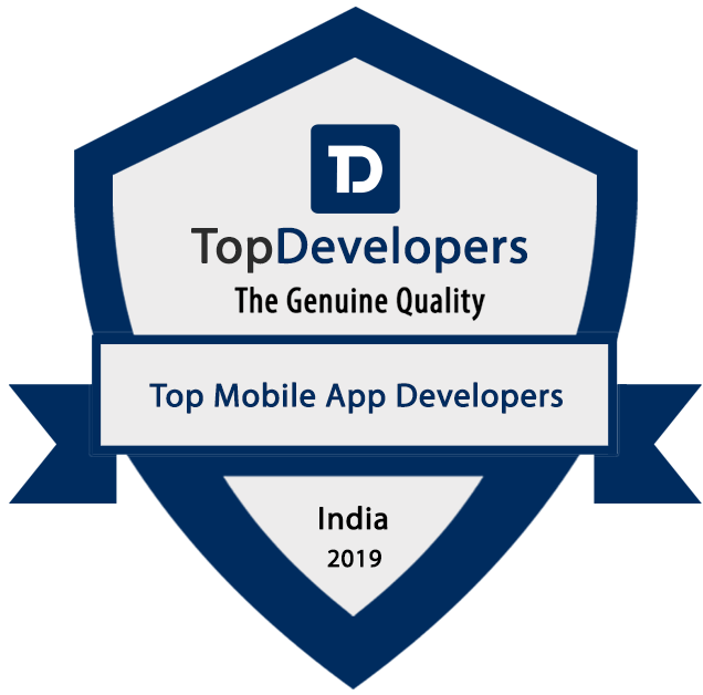 Top Mobile app developers Badge - India