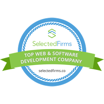 Top Web app developers Badge - India