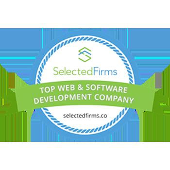 Top Web app developers Badge - India